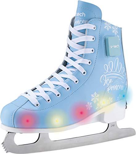 X-TECH Ice Star LED Schlittschuhe Ice Skates...